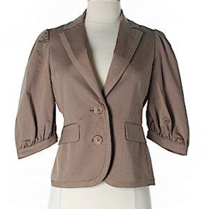 BCBG MaxAzria 3/4 puffy sleeve blazer XS